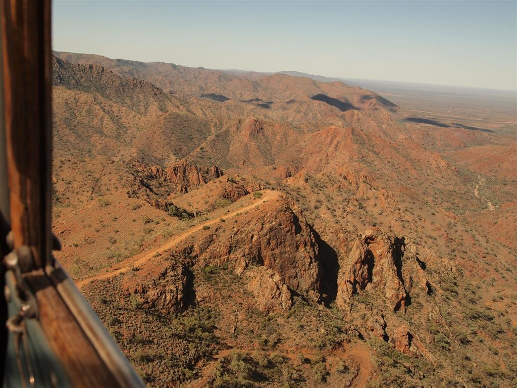 Arkaroola Wilderness Sanctuary - Flight over the Arkarooal Protection Area